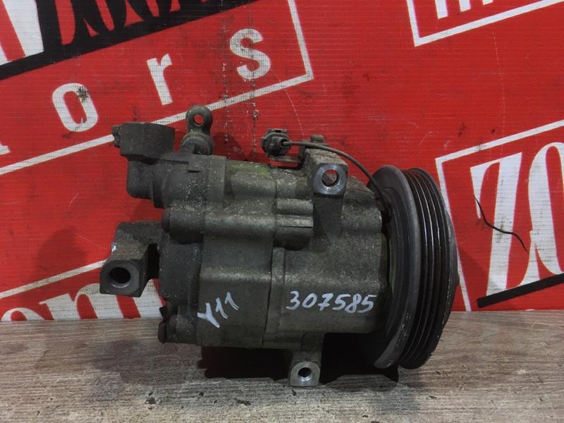Компрессор кондиционера Nissan Ad VY11 QG13DE 1999