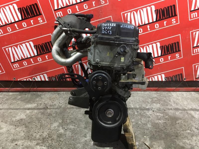 Двигатель Nissan Ad VY11 QG13DE 1999 №363849