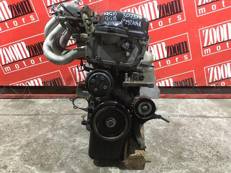 Двигатель Nissan Bluebird Sylphy QG10 QG18DE 2000 №292704А