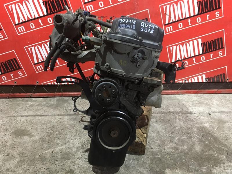 Двигатель Nissan Bluebird QU14 QG18DE 1996 №289418