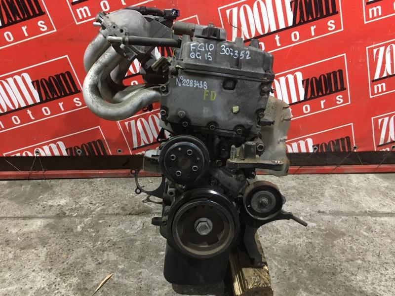 Двигатель Nissan Bluebird Sylphy FG10 QG15DE 2000 №228343В