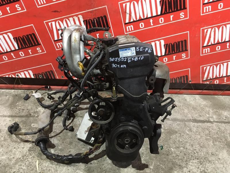 Двигатель Toyota Raum EXZ10 5E-FE 1997 №1268377