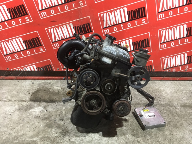 Двигатель Toyota Platz SCP11 1SZ-FE 1999 №0987939