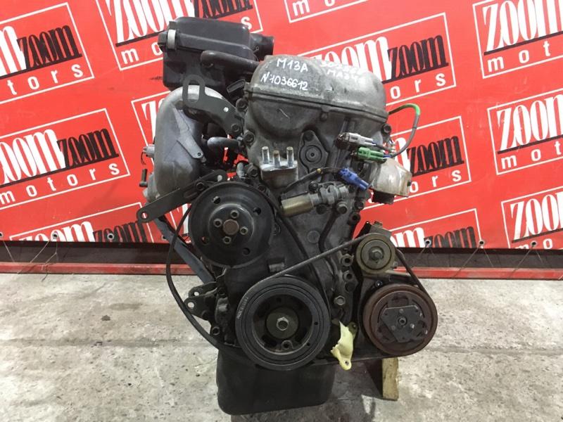 Двигатель Suzuki Wagon R Solio MA34S M13A 1999 №1036612
