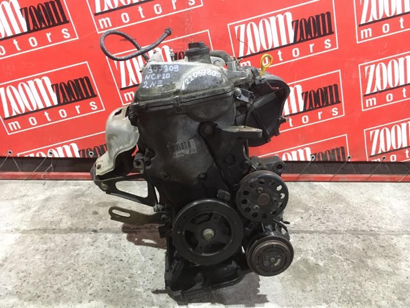Двигатель Toyota Funcargo NCP20 2NZ-FE 1999 №2205980