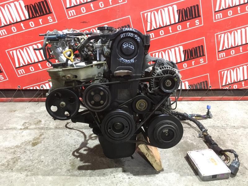 Двигатель Toyota Carina AT170 5A-FE 1988 №4289196