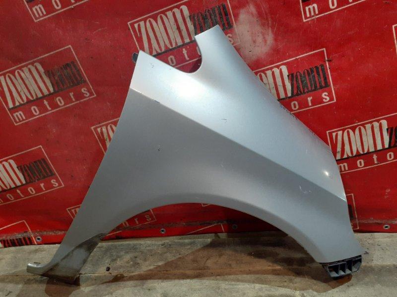 Крыло Honda Fit GD1 L13A 2001 переднее правое серебро