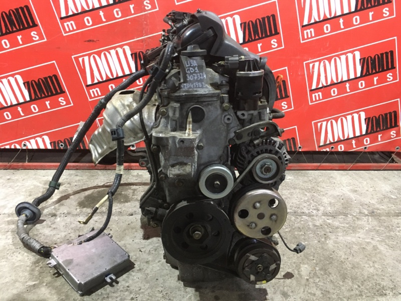 Двигатель Honda Fit GD1 L13A 2001 №2045982