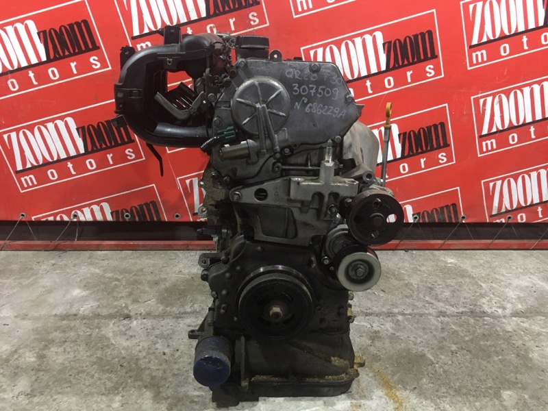 Двигатель Nissan X-Trail T30 QR20DE `2001 №686229A