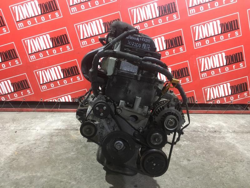 Двигатель Nissan March AK12 CR12DE 2002 №017641А