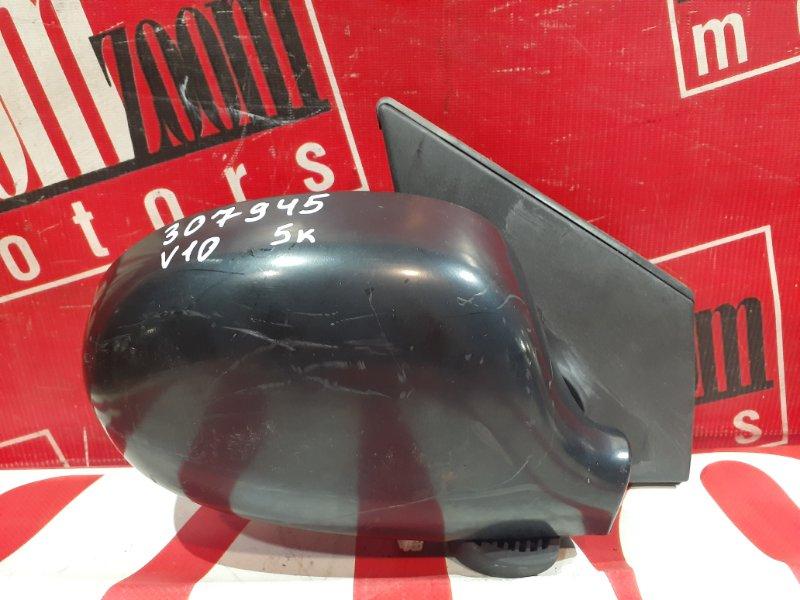 Зеркало боковое Nissan Tino V10 QG18DE 1998 переднее правое черный