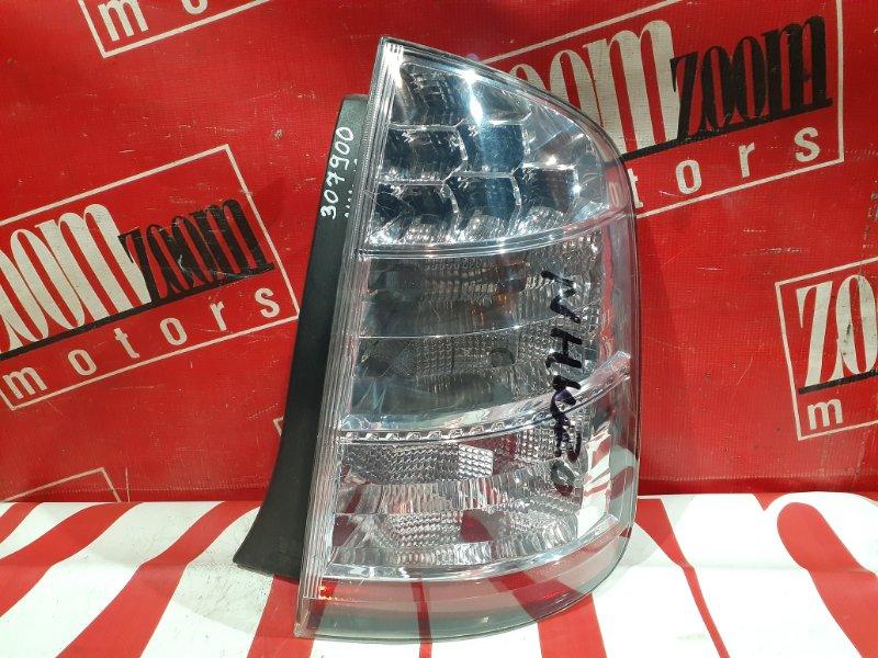 Фонарь (стоп-сигнал) Toyota Prius NHW20 1NZ-FXE 2003 задний правый 47-13