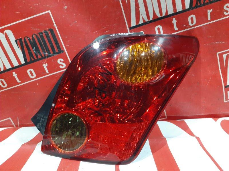 Фонарь (стоп-сигнал) Toyota Ist NCP60 2NZ-FE 2002 задний правый 52-056