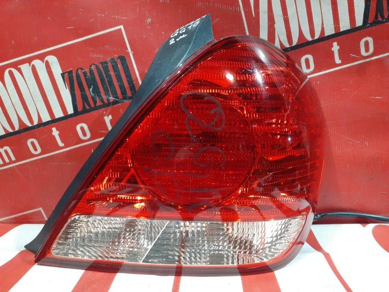 Фонарь (стоп-сигнал) Nissan Bluebird Sylphy QG10 QG18DE 2003 задний правый 49-78