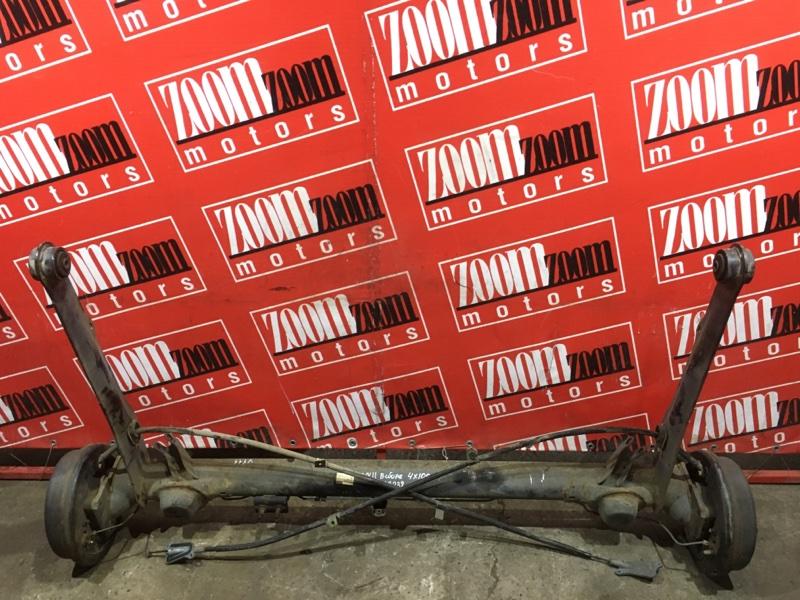 Балка поперечная Nissan Ad VY11 QG13DE 1999 задняя
