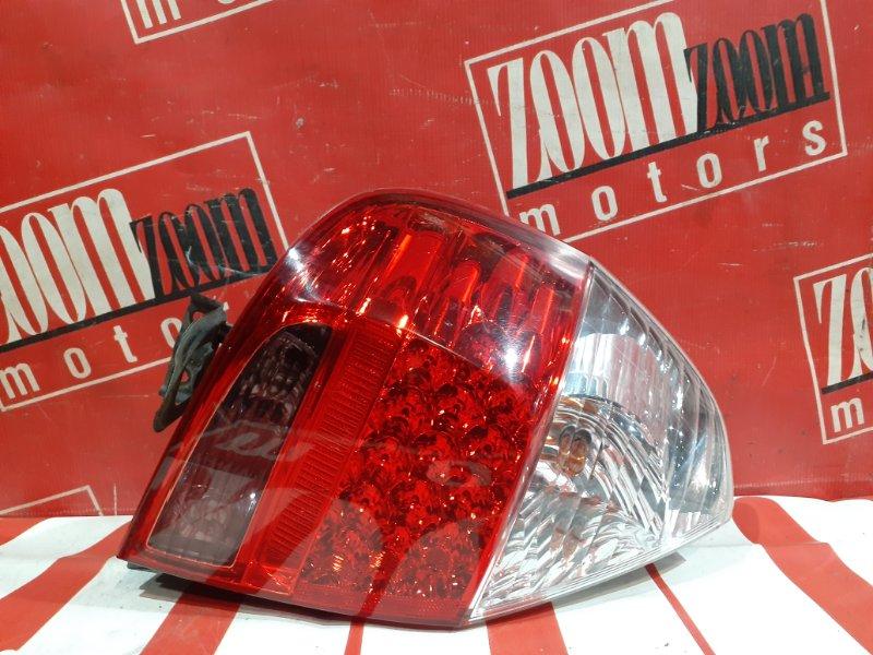 Фонарь (стоп-сигнал) Honda Fit GD1 L13A 2004 задний левый 49-95