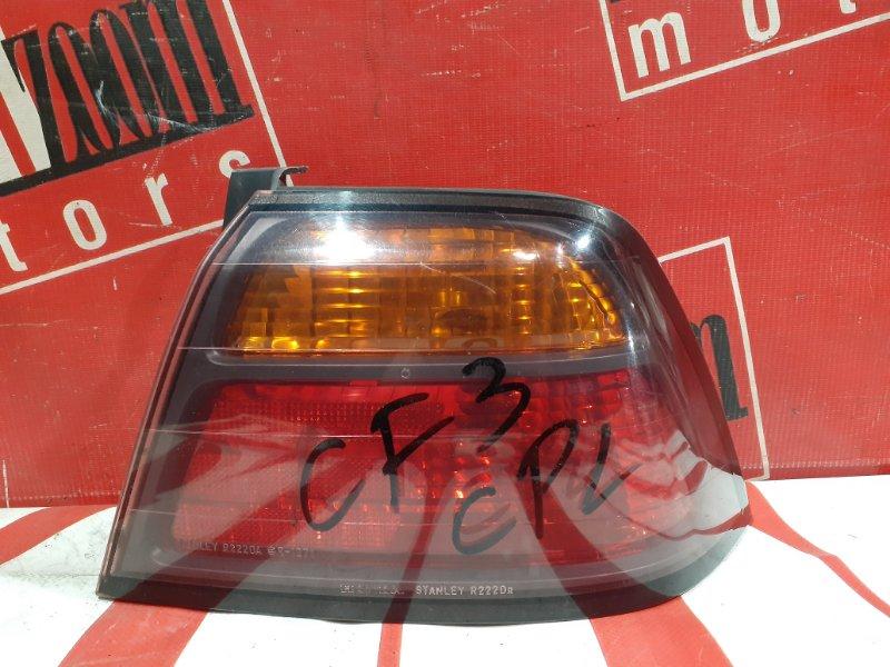 Фонарь (стоп-сигнал) Honda Accord CF3 F18B 1997 задний правый 22-20