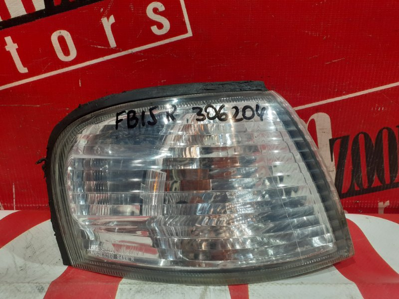 Поворотник (габарит) Nissan Sunny FB15 QG15DE 2002 передний правый