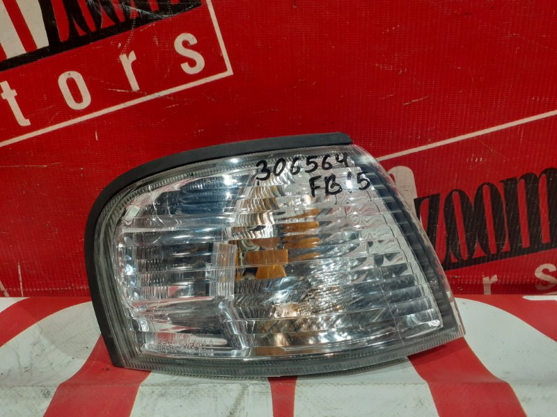 Поворотник (габарит) Nissan Sunny FB15 QG15DE 1998 передний правый 34-18