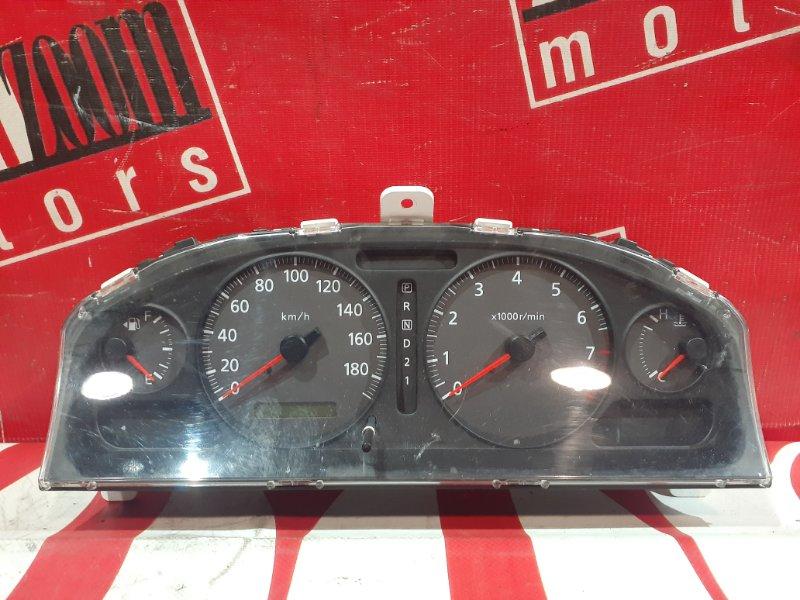 Комбинация приборов (спидометр) Nissan Bluebird Sylphy FG10 QG15DE 2000 передняя 8N405 B7
