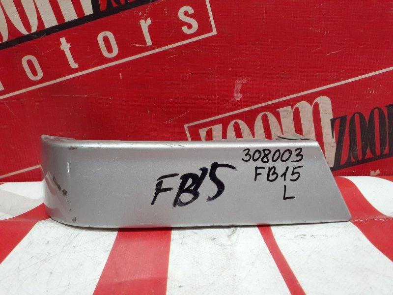 Планка под фонарь Nissan Sunny FB15 QG15DE 1998 задняя левая серебро