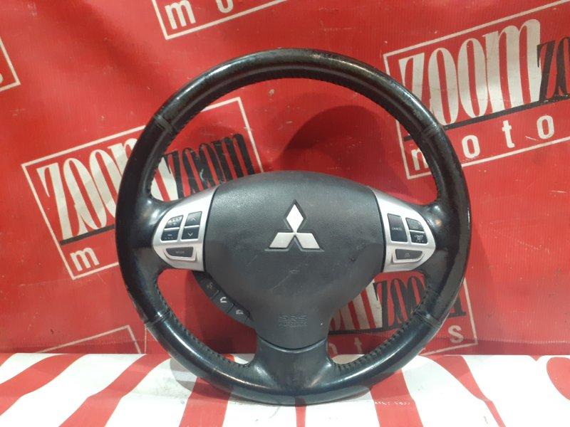 Руль Mitsubishi Lancer X CY4A 4B11 2007 передний черный