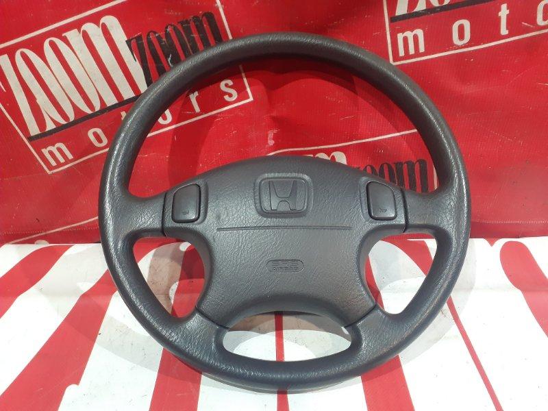 Руль Honda Domani MB3 D15B 1995 передний черный