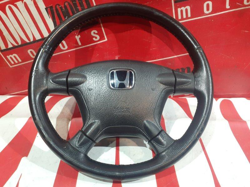 Руль Honda Cr-V RD5 K20A 2001 передний черный