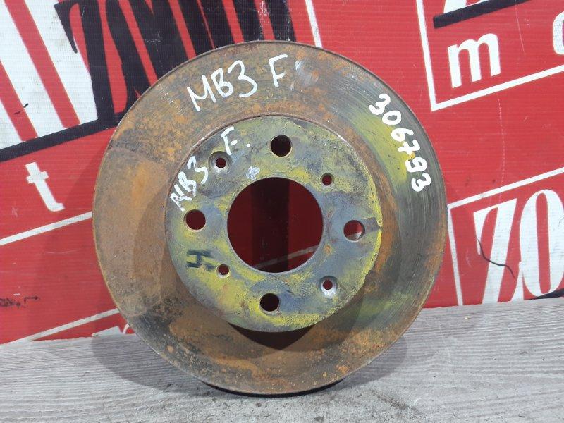 Диск тормозной Honda Domani MB3 D15B 1995 передний левый