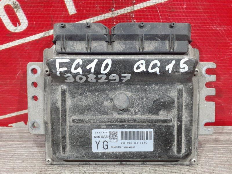Компьютер (блок управления) Nissan Bluebird Sylphy FG10 QG15DE 2000 A56-W28 A2V4525