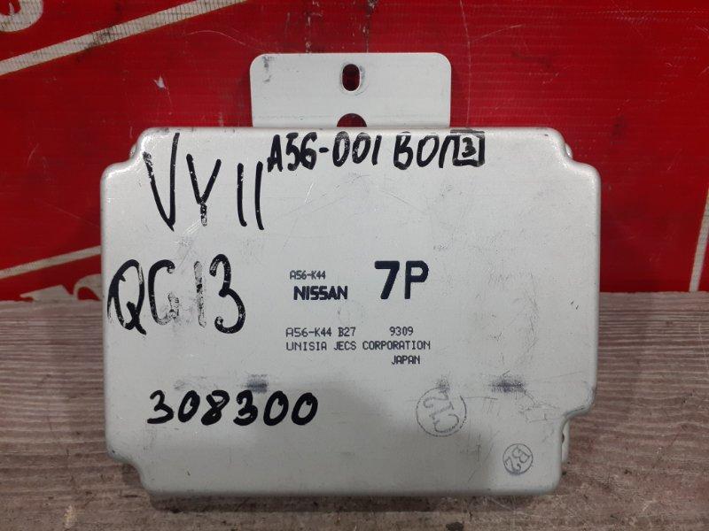 Компьютер (блок управления) Nissan Ad VY11 QG13DE 1999 A56-001 B013