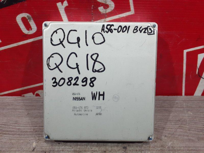 Компьютер (блок управления) Nissan Bluebird Sylphy QG10 QG18DE 2000 A56-001 B42 (3)