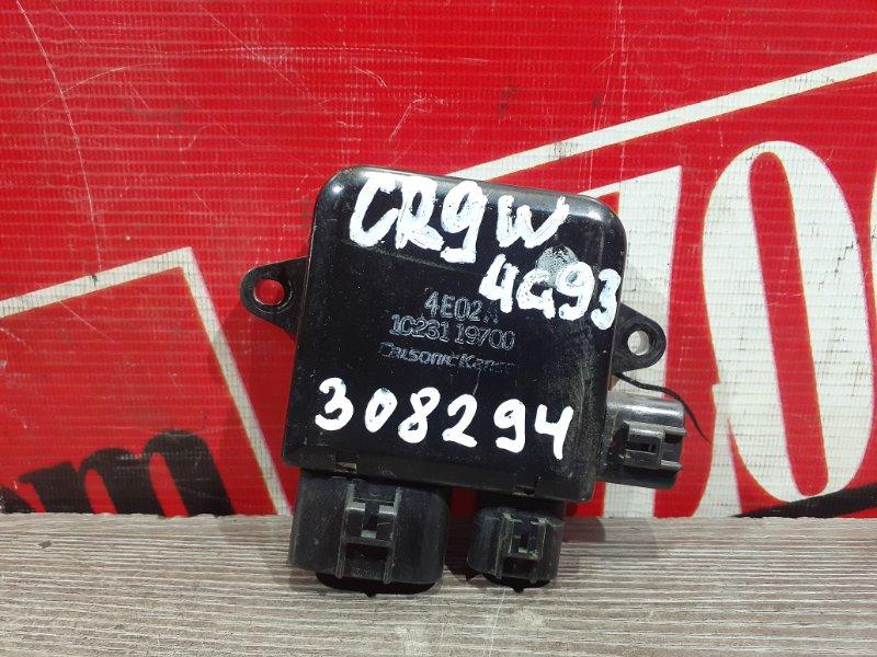 Блок управления вентилятором охлаждения Mitsubishi Dion CR9W 4G93 1998 передний 4E02A 1C231 19700