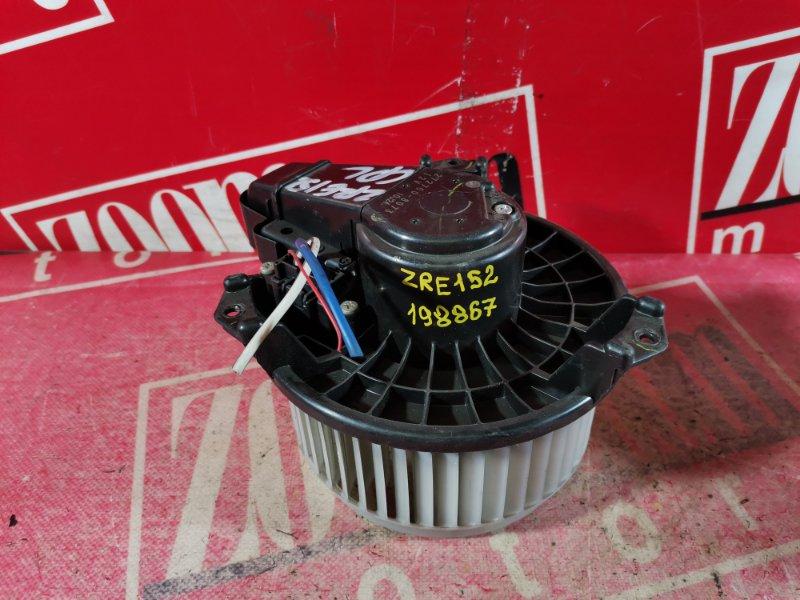Вентилятор (мотор отопителя) Toyota Corolla Rumion ZRE152 2ZR-FAE 2007