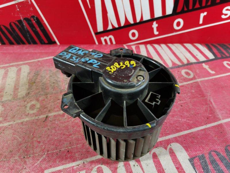 Вентилятор (мотор отопителя) Toyota Passo QNC10 K3-VE 2004