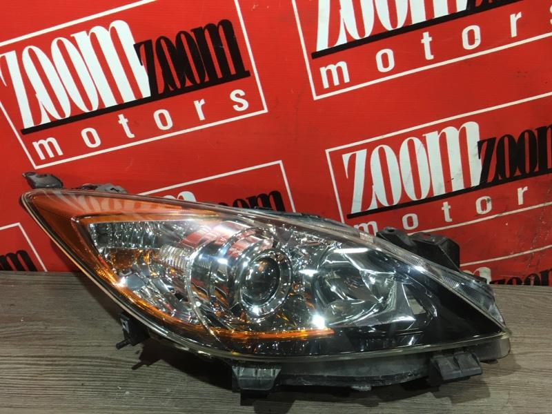 Фара Mazda Axela BL5FW ZY-VE 2009 передняя правая 100-41343