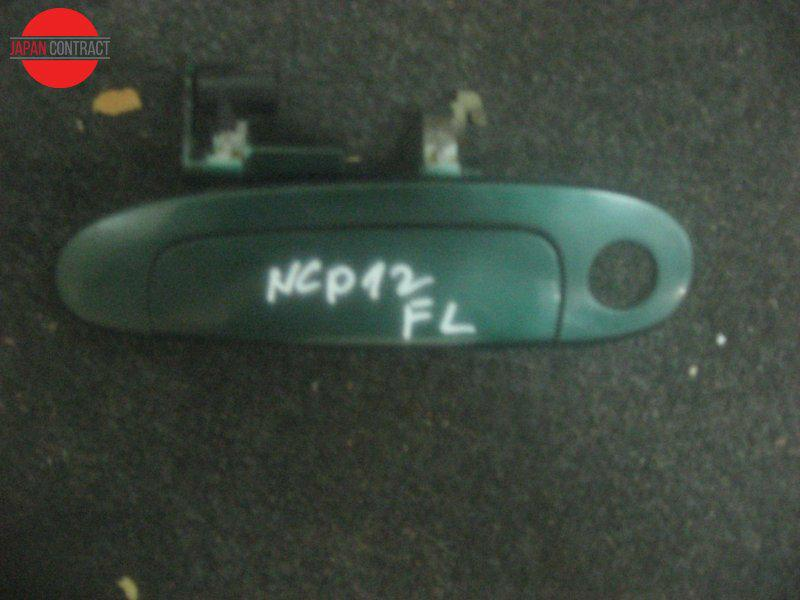 Ручка наружная Toyota Platz NCP12 передняя левая