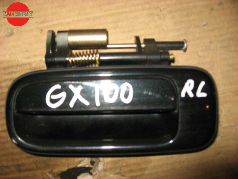 Ручка наружная Toyota Chaser GX100 1G-FE задняя левая