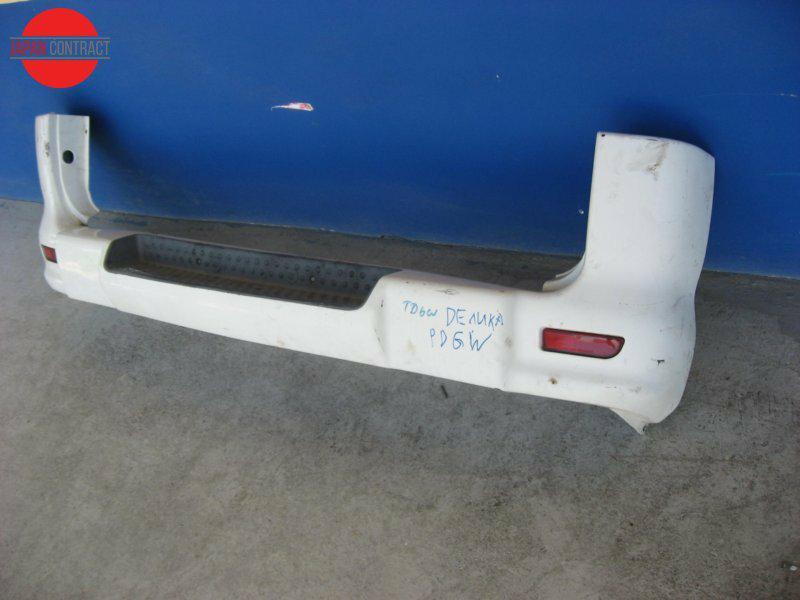 Бампер Mitsubishi Delica Space Gear PD6W 1999 задний