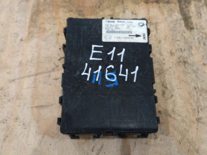 Блок управления abs. Nissan Note E11 HR15DE 2006