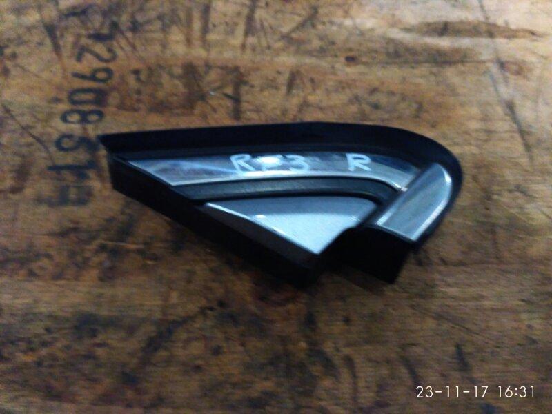Накладка на зеркало Honda Cr-V RE3 K24A 2007 правая