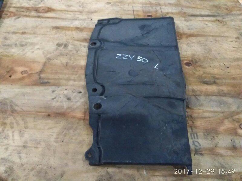 Защита двс Toyota Vista Ardeo ZZV50 1ZZ-FE 2002 левая