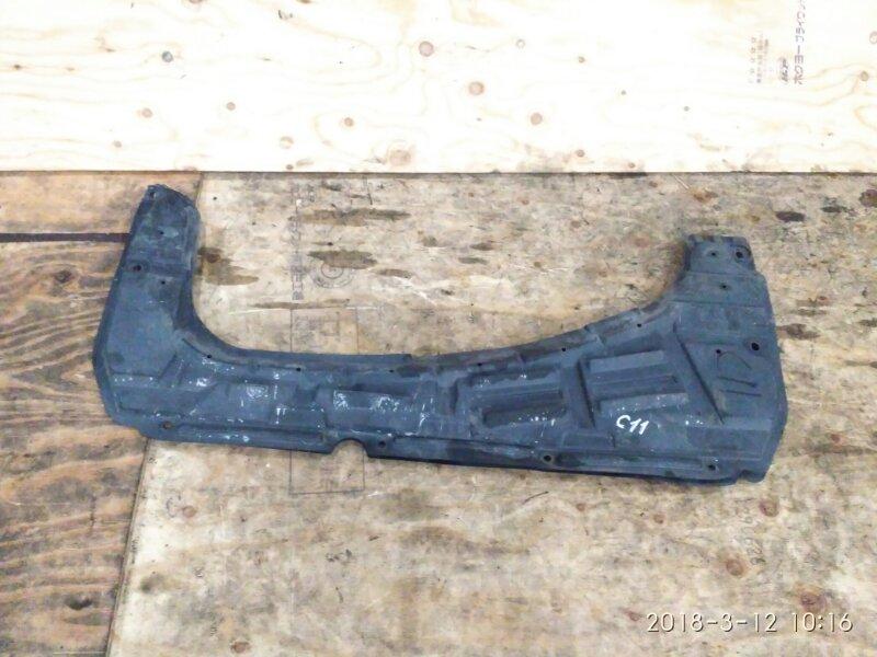 Защита двс Nissan Tiida C11 HR15DE 2004 нижняя