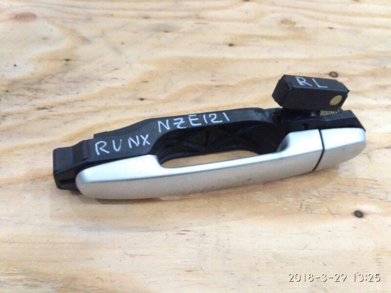 Ручка наружная Toyota Runx NZE121 1NZ-FE задняя левая