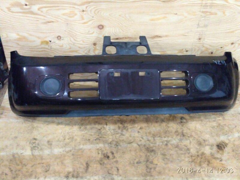 Бампер Nissan Cube YZ11 HR15DE 2007 передний