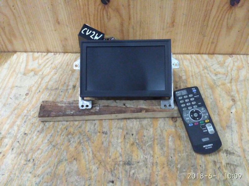 Телевизор в салон Mitsubishi Airtrek CU2W 4G63 2002