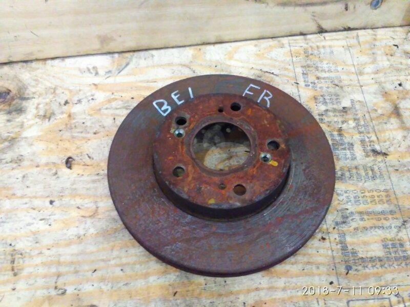 Диск тормозной Honda Edix BE1 D17A 2005 передний правый