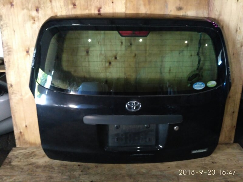Дверь задняя багажника Toyota Probox NCP58G 1NZ-FE 2006