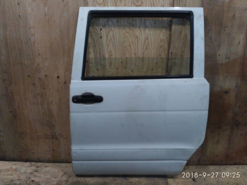 Дверь боковая Toyota Liteace Noah SR50G 3S-FE 1998 задняя левая