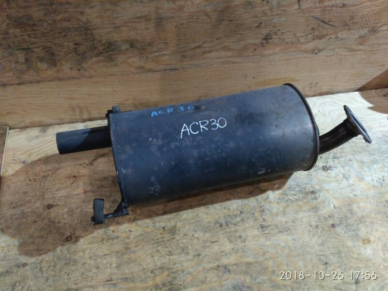 Глушитель Toyota Estima ACR30 2AZ-FE 2001